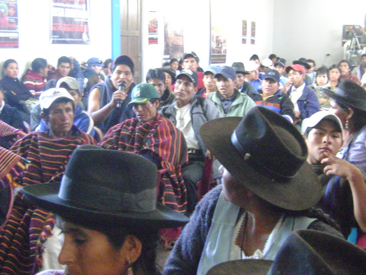 Pueblos indígenas de Chuquisaca, conmemoran declaración de los derechos indígenas por la OEA