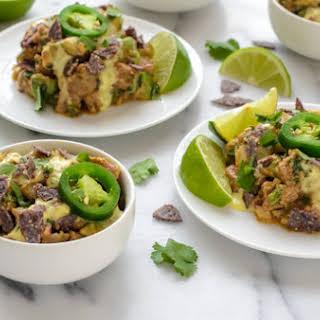 Tex-Mex Spiced Tuna Tartare with Jalapeño Aioli.