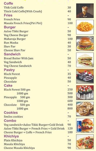 Royal Cake And More menu 3