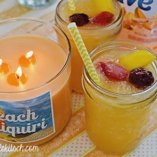 Sparkling Peach Daiquiri.