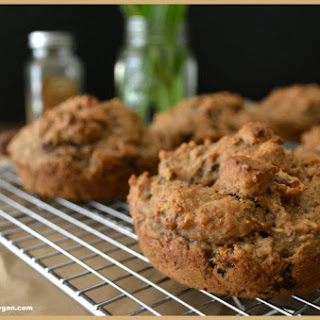 Oil-free Banana Fig Cakes with Date-Coconut Drizzle.