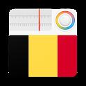 Belgium Radio Stations Online - Belgique FM AM icon