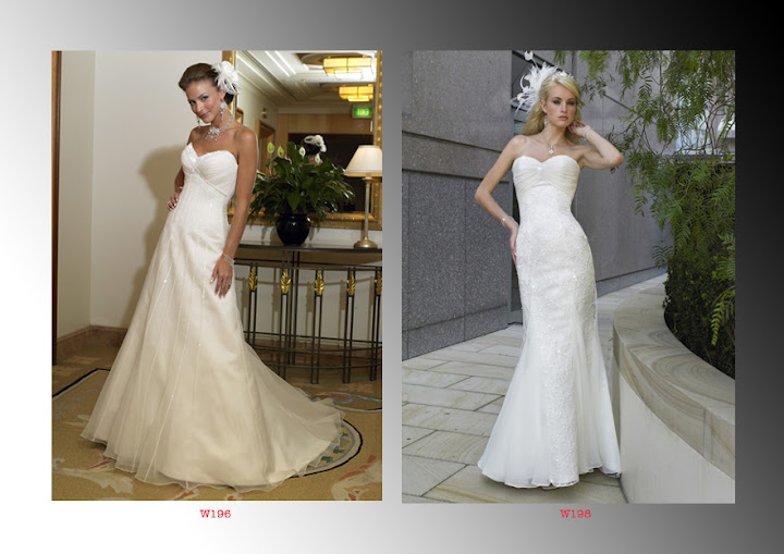 W196 Romantic Bridal Dresses / Wedding Gowns