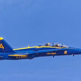 Blue Angels 959 by Raphael RaCcoon - Transportation Airplanes