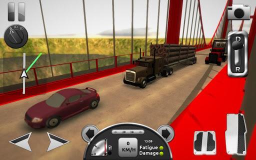 Truck Simulator 3D  captures d'u00e9cran 2