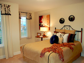 Photo: The guest bedroom in our MORGAN model home at Greyledge Estates in Albany, New York