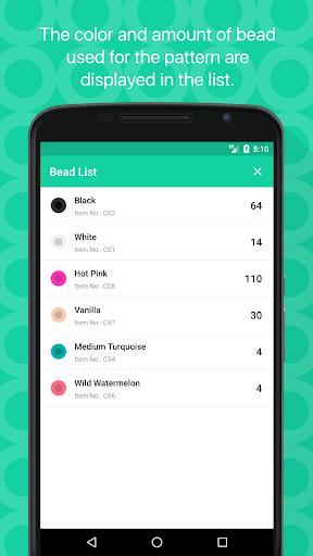 Beads Creator - Bead Pattern Editor  screenshots 4