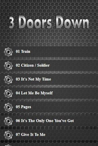 Download 3 Doors Down Lyrics Google Play Softwares Atahnnmrsaex