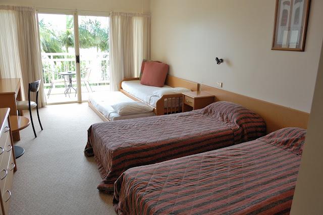 タンガルーマ・ワイルドドルフィンリゾートの部屋のベッドルームの写真
