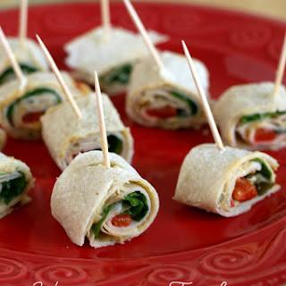 Hummus Turkey Pinwheels