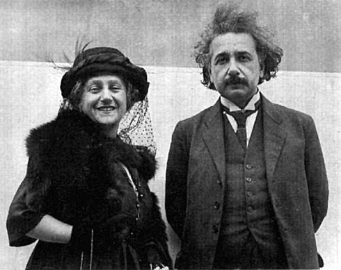 Счастливая чета: Альберт и Эльза Эйнштейн