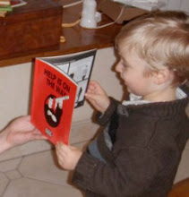 "Photo: Eric writes ""My 2yo nephew loves your book — although he is two, unable to read and French speaking."""
