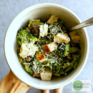 Simple Broccoli & Parmesan Noodles Recipe
