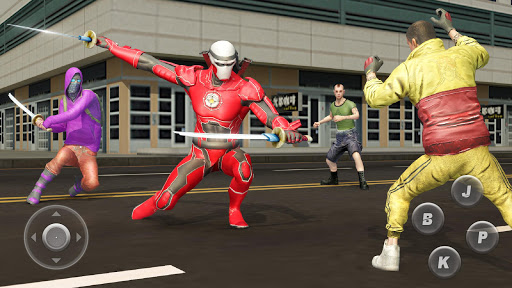Ninja Superhero Fighting Games: City Kung Fu Fight 5.9 screenshots 5