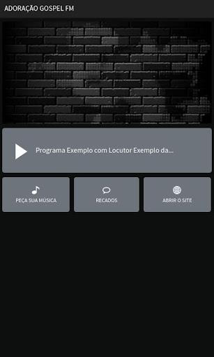 ADORAÇÃO GOSPEL FM
