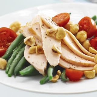 Chicken Salad with Toasted Hazelnuts.