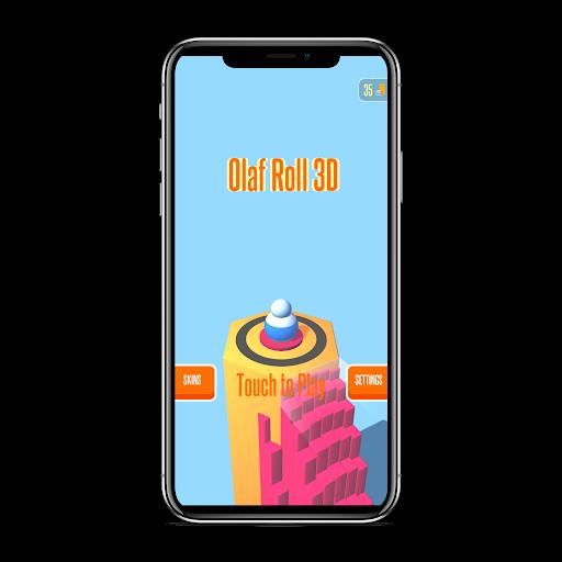 Olaf Roll 3D  captures d'écran 1