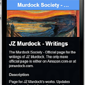 JZ Murdock Society - Writings icon
