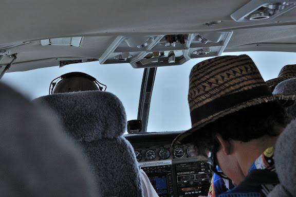 SEAIRの小型機内の写真