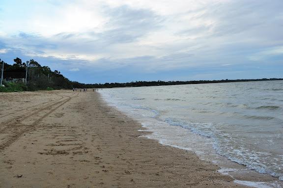ハービーベイの海岸の写真
