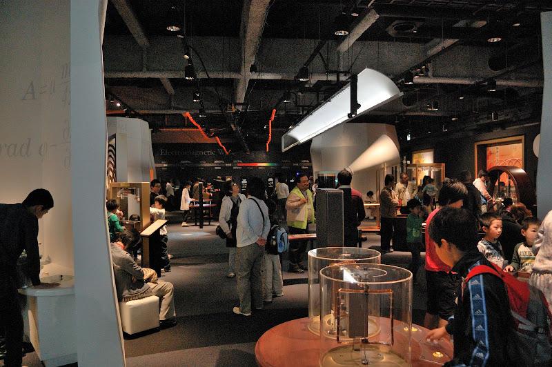 名古屋市科学館・理工館 4階 科学原理とのふれあい展示ゾーンの写真