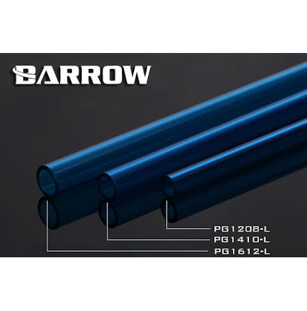 Barrow PETG Tube Ø8/Ø12mm, blå, 1 stk à 50cm