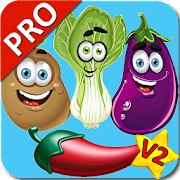 Vegetable Flashcards V2 PRO