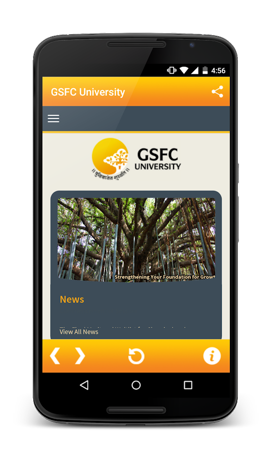 GSFC University- screenshot