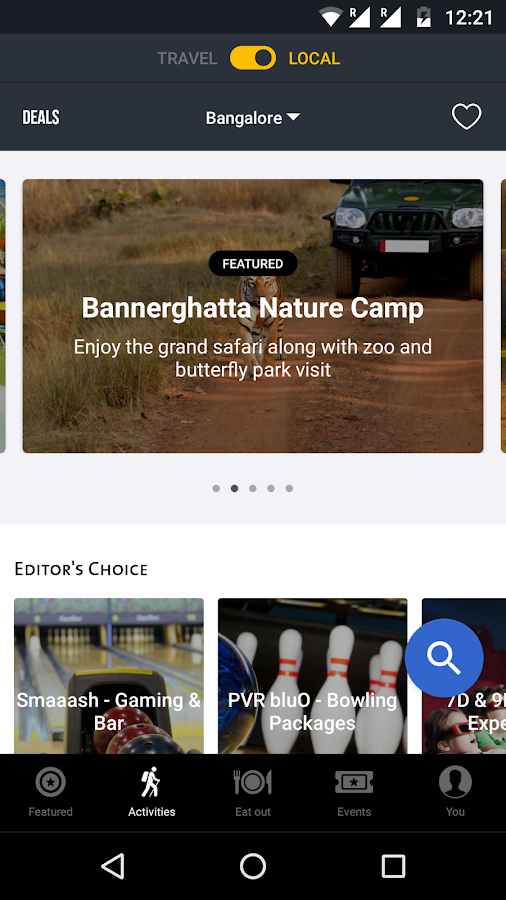 Cleartrip - Flights, Hotels, Activities, Trains- screenshot