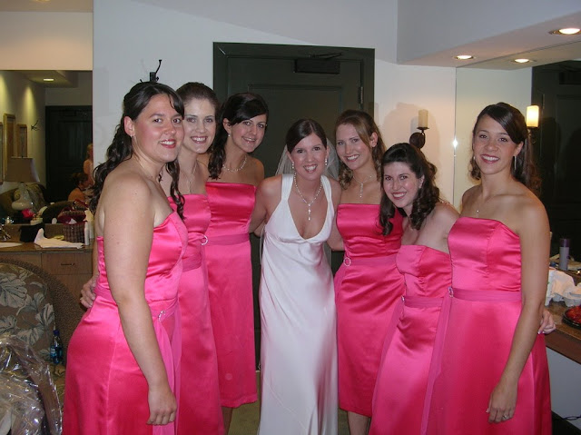 Pink Bridesmaid Dresses Cute'