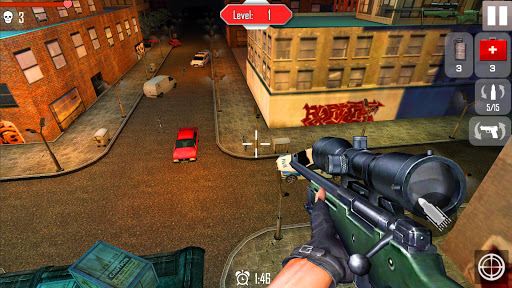 Sniper Shoot War 3D android2mod screenshots 1