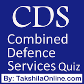 CDS (Combined Defence Services) Quiz