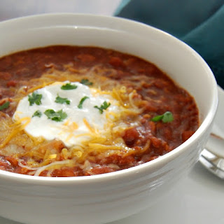 Vegetarian Three Bean Easy Chili