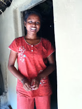 Photo: Bichitra Das is happy for having the solar home light..she can study uninterruptedly at night now.