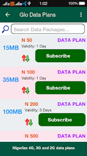 4G Data Plan Nigeria- screenshot thumbnail