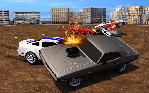 Xtreme Derby Demolition Arena - Crash of Cars 3D  screenshots 1