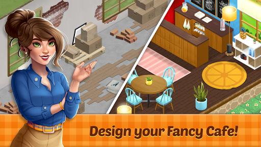 Fancy Cafe - Decorating & Restaurant games screenshot 1