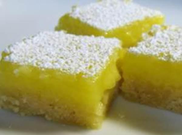 Dainty Lemon Bars Recipe