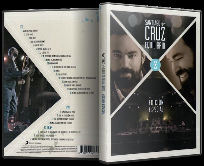 Santiago Cruz - Equilibrio (Edición Especial) (2016) [MP3 @320 Kbps]