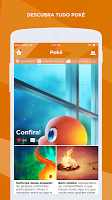 screenshot of Poké Amino para Pokemon em Português