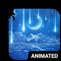 Star Rain Animated Keyboard + Live Wallpaper icon