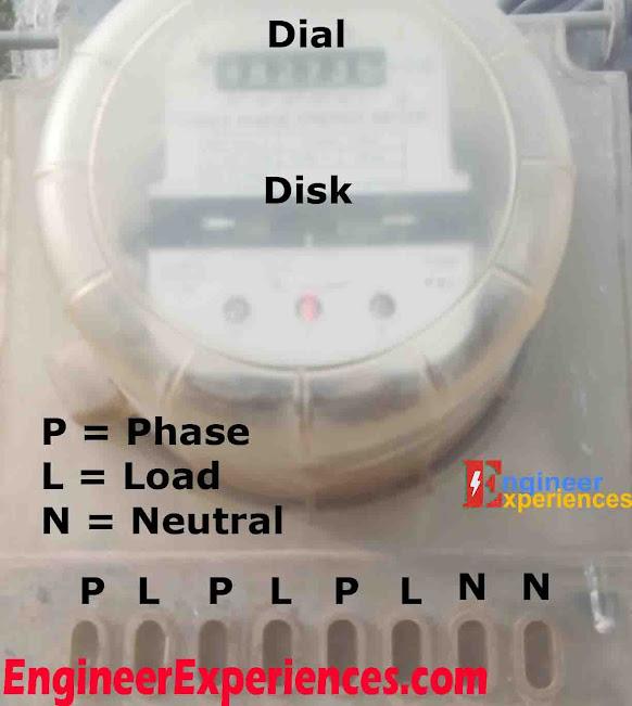 3 Phase Electro-Mechanical Energy Meter