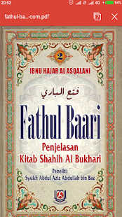 Kitab Fahtul Baari Lengkap - náhled