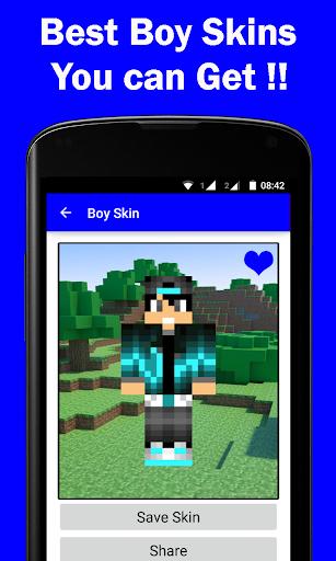 HD Boy Skins for Minecraft PE