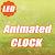 LED Animated Digital Clock LWP file APK Free for PC, smart TV Download