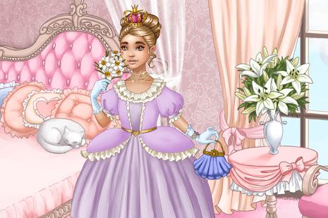 Oblíkačka Princezna – hra - náhled