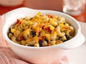 Black Bean Pasta Bowl Recipe