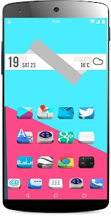 3D icon Pack theme - screenshot thumbnail