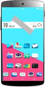 3D icon Pack theme - screenshot thumbnail
