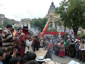 Anniversaire de l'Etat plurinational de Bolivie